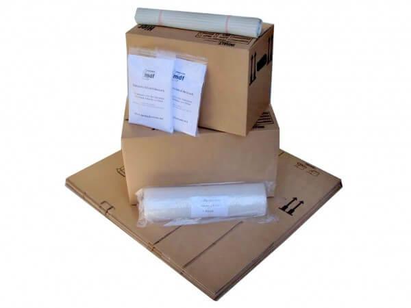 Umzugspaket 1 bis 2 Zimmer Wohnung - 15 Kartons + Zubehör